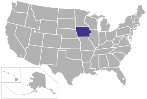 KKBA serves Iowa
