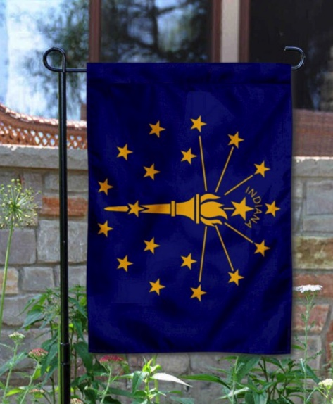 Indiana Landscaping Business Yard Flag