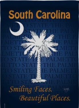 South Carolina Lawn Flag