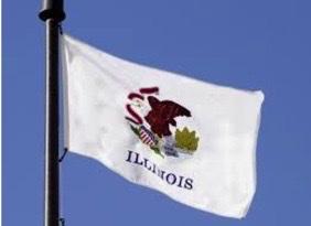 Illinois Landscaping Business Yard Flag