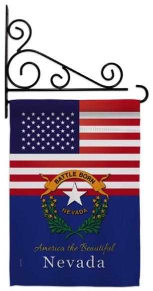 Nevada Landscape Flag