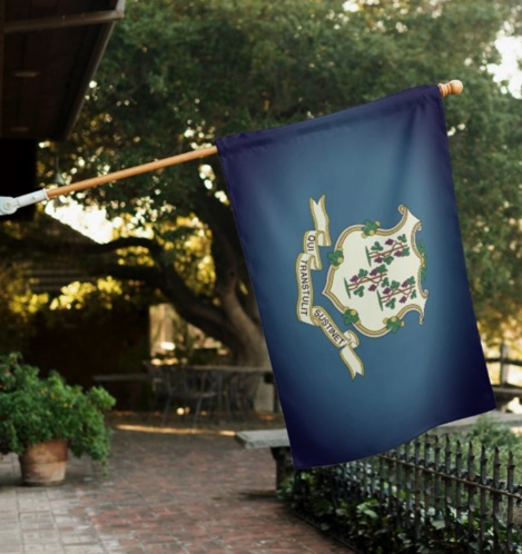 Connecticut Landscaping Business Yard Flag
